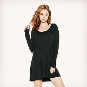 Women's Long Sleeve Swing Dress
